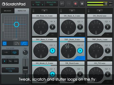 ScratchPad HD Appli iPad