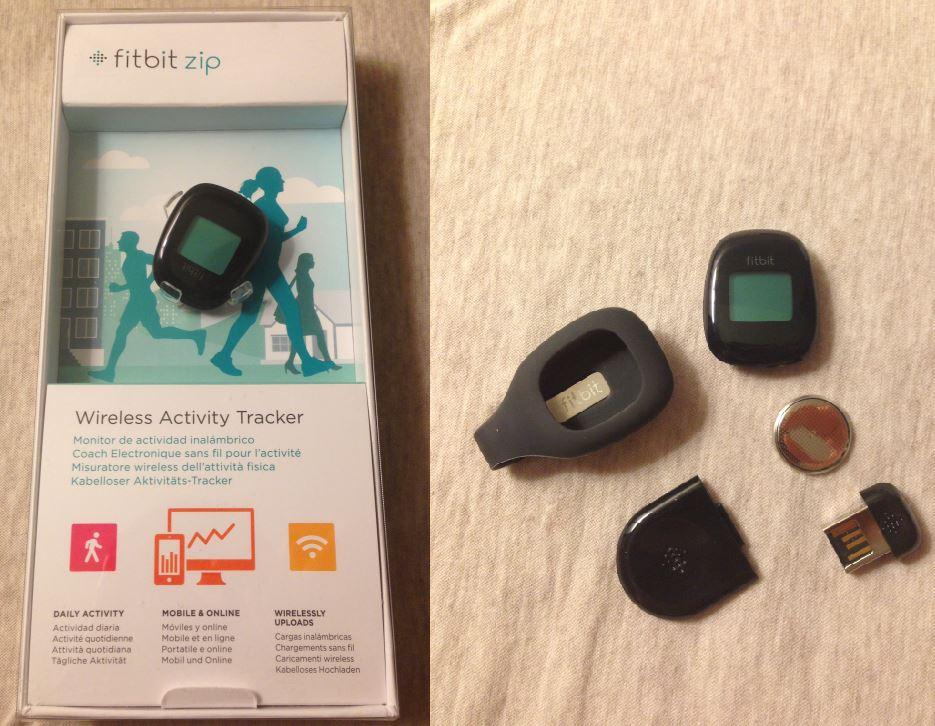 Fitbit zip - Fitbit Zip : tracker fitness sans fil connecté à l'iPhone