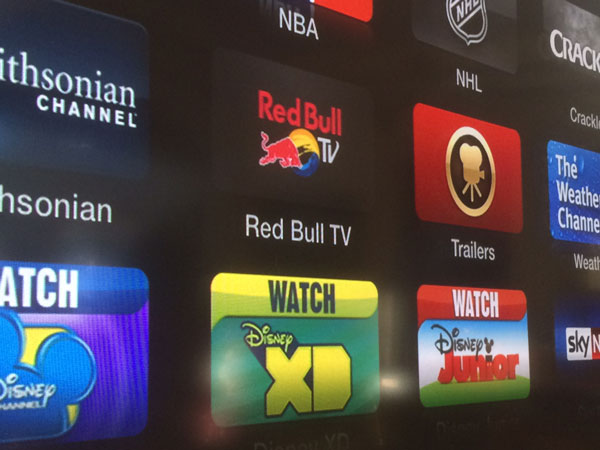 Red Bull TV - Apple TV : ajout de la chaîne Red Bull TV