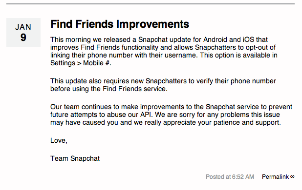 Snapchat-excuses