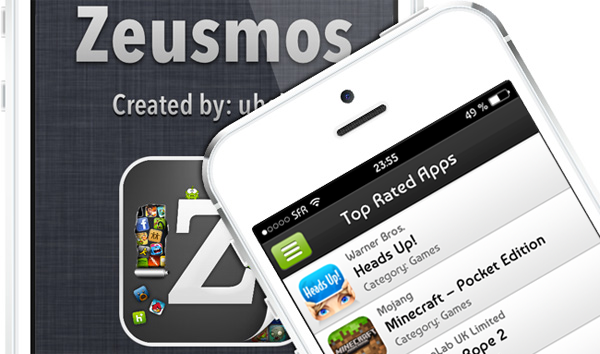 Zeusmos Cydia - Applications iPhone et iPod Touch
