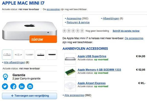 mac mini haswell be - Mac Mini : sortie d'un nouveau modèle pour fin février ?