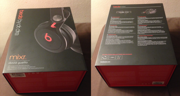 Beats MixR boitier - Test : casque audio Beats MixR by Dr. Dre