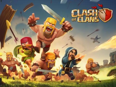 Clash Of Clans - Les meilleurs jeux multijoueur pour iOS