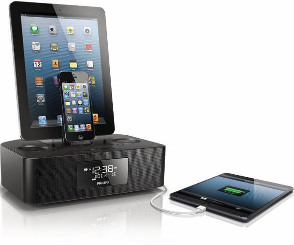 Philips AJ7260D37 - Philips AJ7260D/37 : un double dock radio pour iPhone & iPad