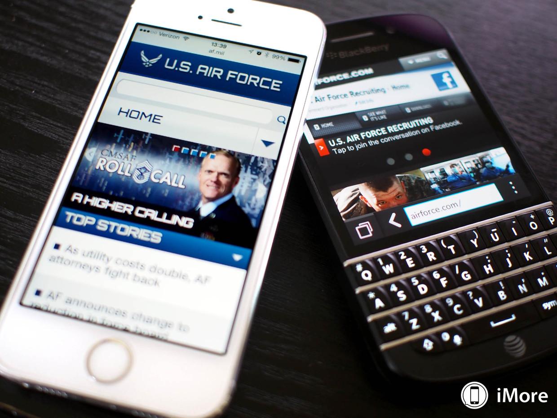 US Air force iphone blackberry - L'US Air Force s'offre 5000 appareils iOS pour remplacer des BlackBerry