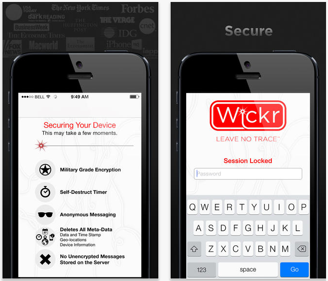 Wickr-iPhone