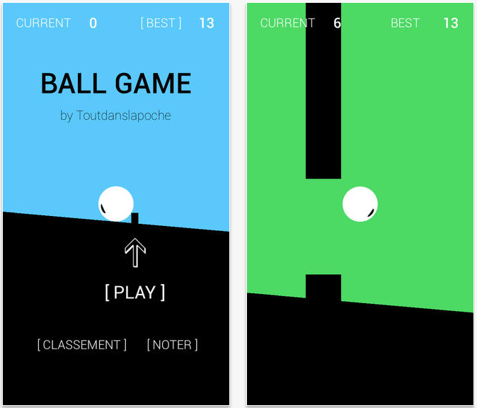 Ball Game - Ball Game : une alternative amusante à Flappy Bird