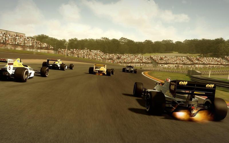 F1 2013 - F1 2013 disponible sur le Mac App Store