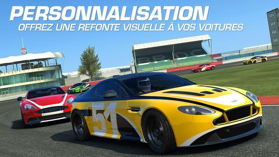 Real Racing 3 2.1 - Real Racing 3 : mode photo, personnalisation et nouvelles voitures