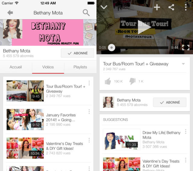 Youtube-iOS-7