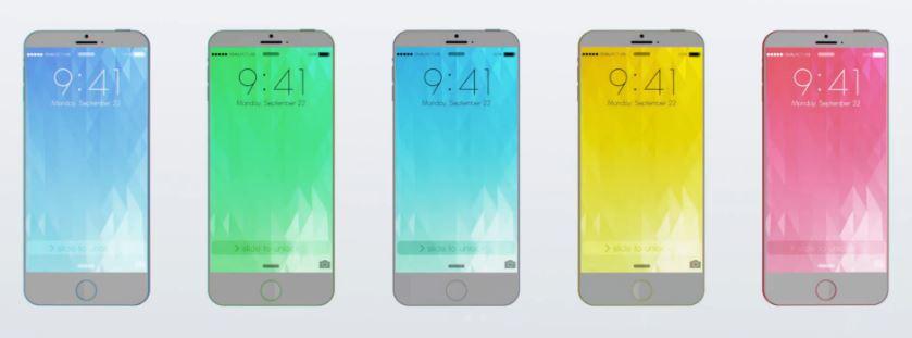 iPhone 6C concept - iPhone 6 : un concept d'iPhone C calqué sur le 5C