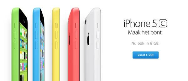 iPhone 5c 8 Go - iPhone 5C 8 Go : disponible dans de nouveaux pays d'Europe