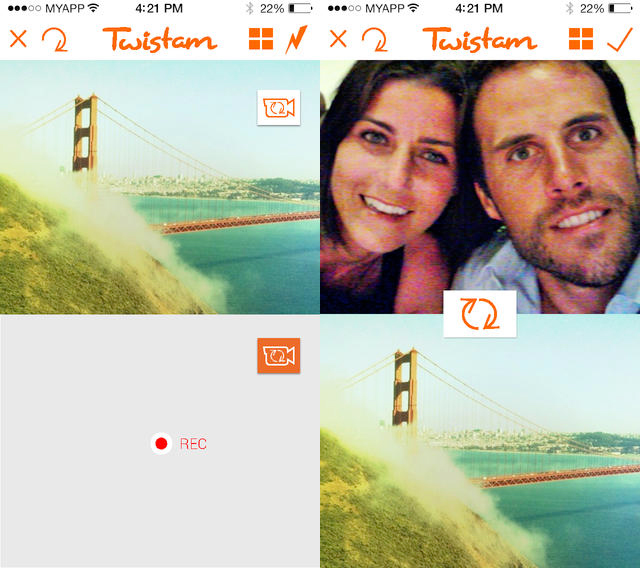 Twistam - Twistam : une application innovante de selfie vidéo