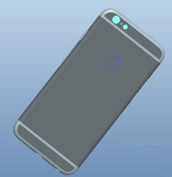 iPhone 6 rendus Foxconn 3 - iPhone 6 : de nouveaux rendus supposés provenir de Foxconn