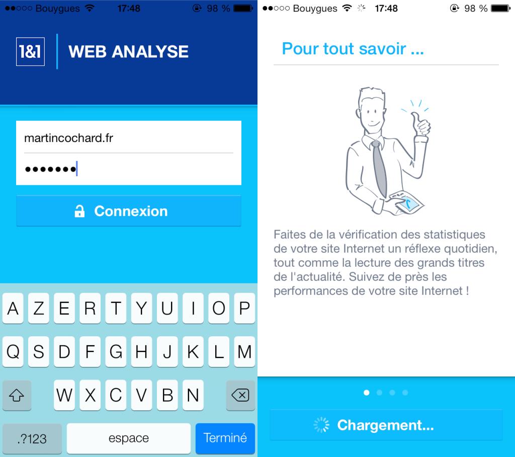 1 and 1 Web Analyse 1024x908 - 1&1 Web Analyse : les statistiques de son site web sur iPhone et iPad