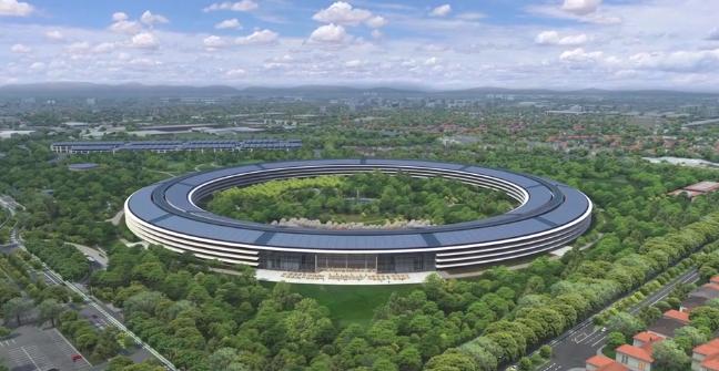 Campus 2 3D - Apple : une vidéo du Campus 2 en 3D