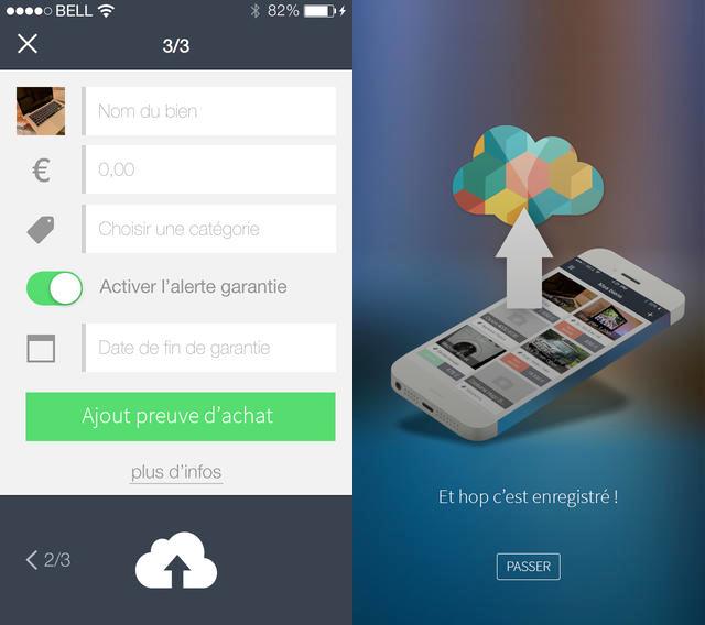 Cbien iOS - CBien : gérer facilement ses biens et factures sur iPhone