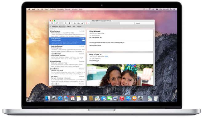 OS X 10.10 Yosemite - Apple publie une vidéo promotionnelle d'OS X 10.10 Yosemite