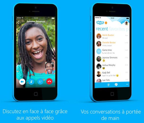 Skype 5.0 - Skype pour iPhone : retour des messages vocaux