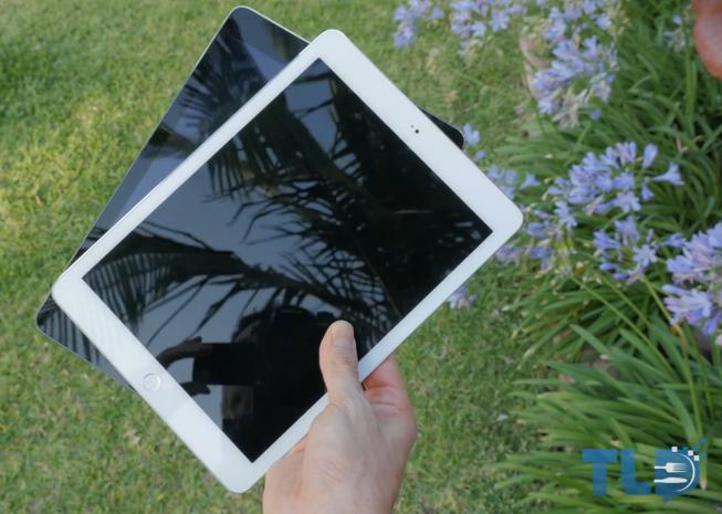 iPad 6 vs iPad Air - iPad 6 : vidéo d'une maquette comparée à l'iPad Air