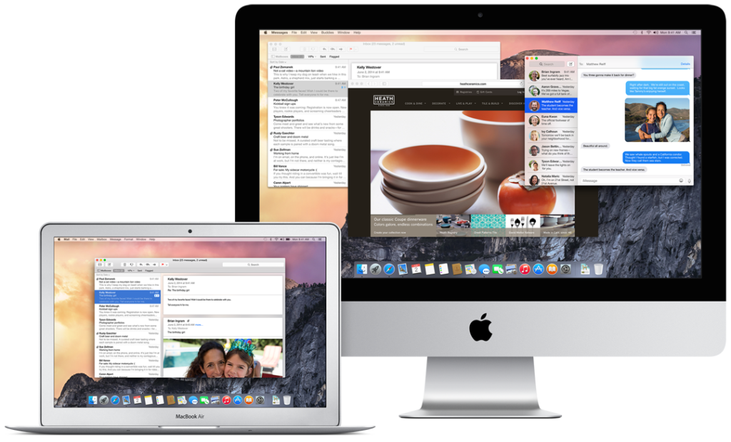 Mac OS X Yosemite 1024x620 - Apple : bêtas 6 d'OS X Yosemite 6 et de Xcode 6 disponibles
