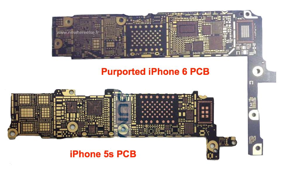 iPhone-6-vs-iPhone-5s-circuit-imprime