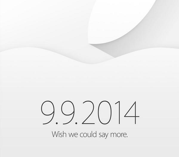 Apple Keynote invitation 9 9 2014 - Apple : regarder la Keynote iPhone 6 & iWatch en direct live