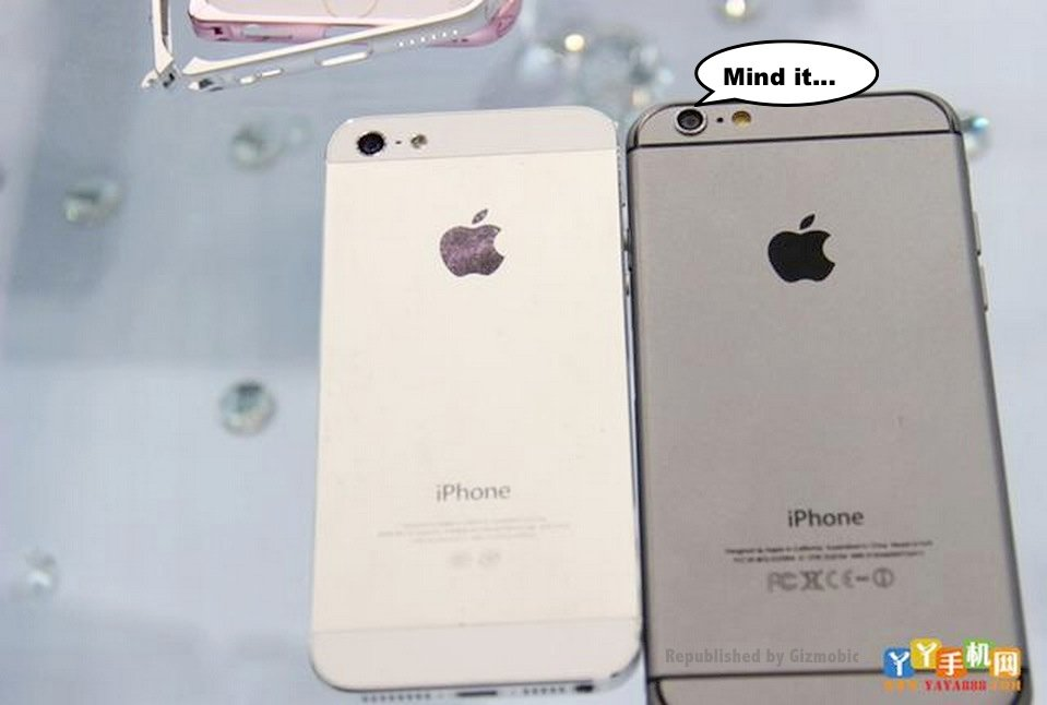 iphone 6 gris sideral vs iphone 5 - iPhone 6 : le modèle gris sidéral comparé à l'iPhone 5