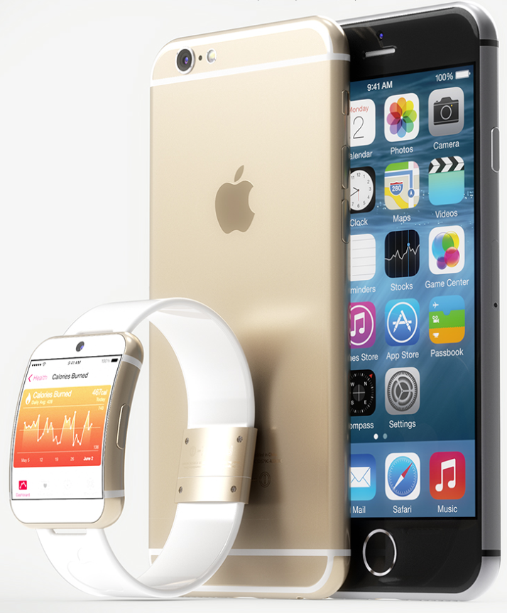 Concept iWatch iPhone 6 - iWatch : un concept au design iPhone 6