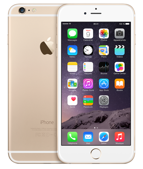 iPhone 6 Plus Or - iPhone 6 & iPhone 6 Plus : quels prix ?