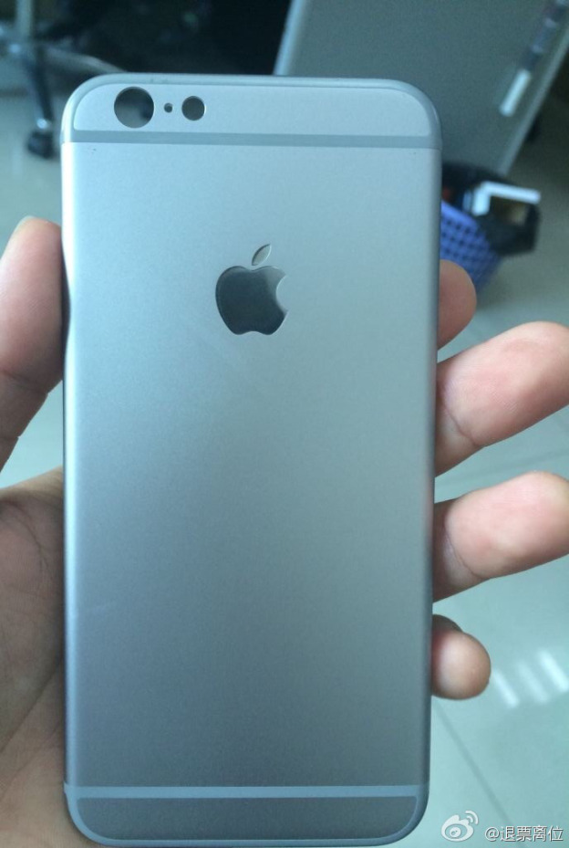 photos coque iphone6 2 - iPhone 6 : nouvelles photos d'une coque arrière grise