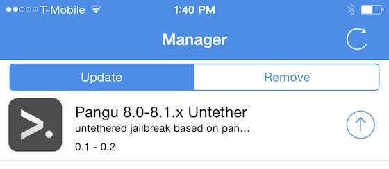 Jailbreak iOS 8 Pangu 0.2 - Jailbreak iOS 8 : première mise à jour de PanGu