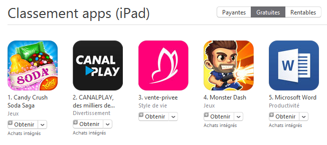 App store obtenir - App Store : le bouton « Gratuit » remplacé par « Obtenir »