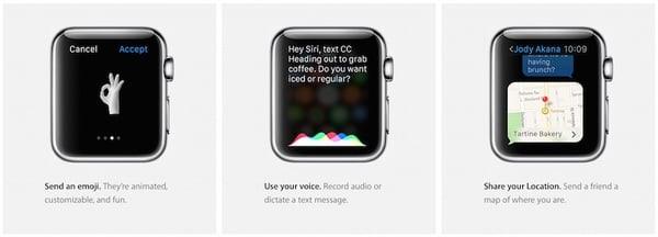 Apple Watch - New ways to connect