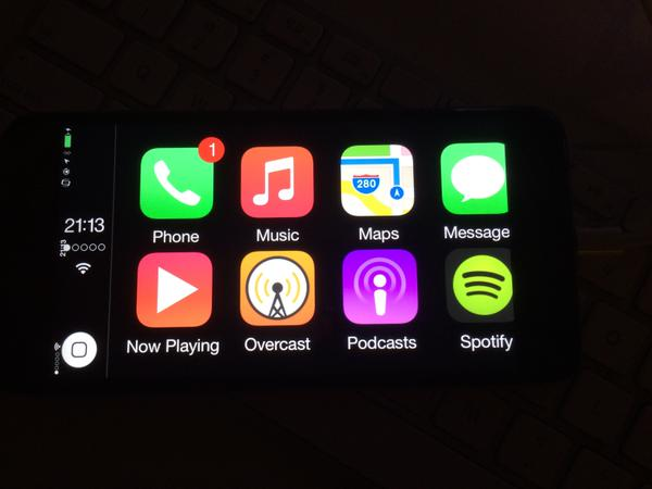 CarPlay sur iPhone 6 Plus - Jailbreak : portage de CarPlay réussi sur iPhone & iPad