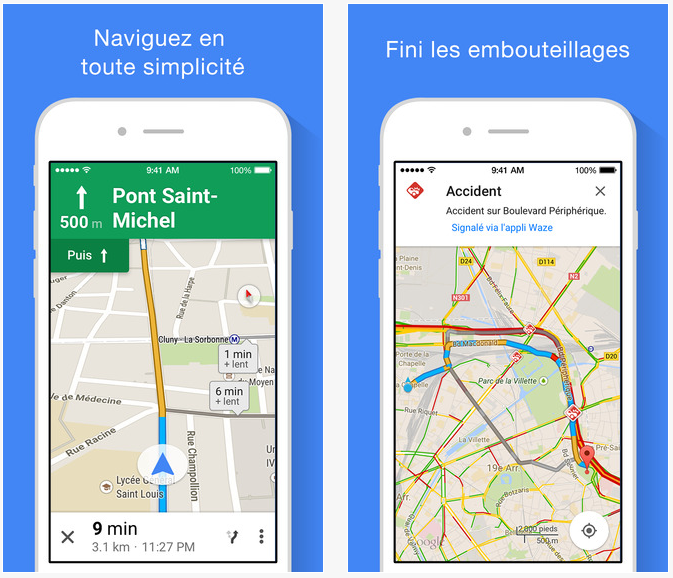Google maps 4.0 iphone - Google Maps : mise à jour en version 4.0