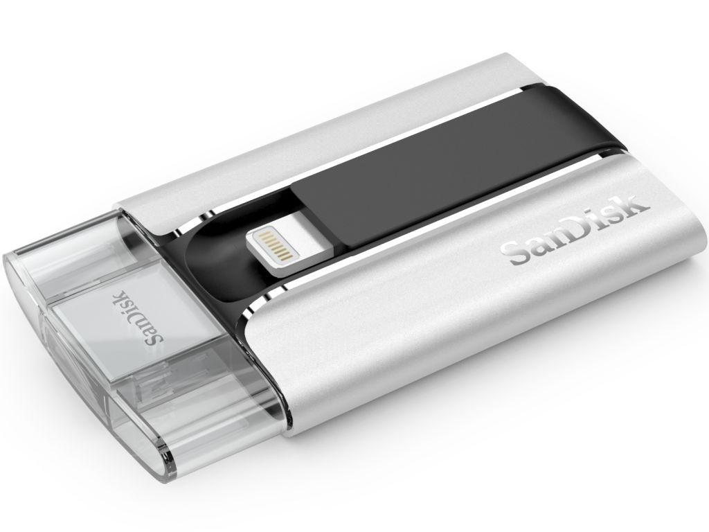 SanDisk iXpand - iXpand SanDisk : une clé USB pour iPhone & iPad
