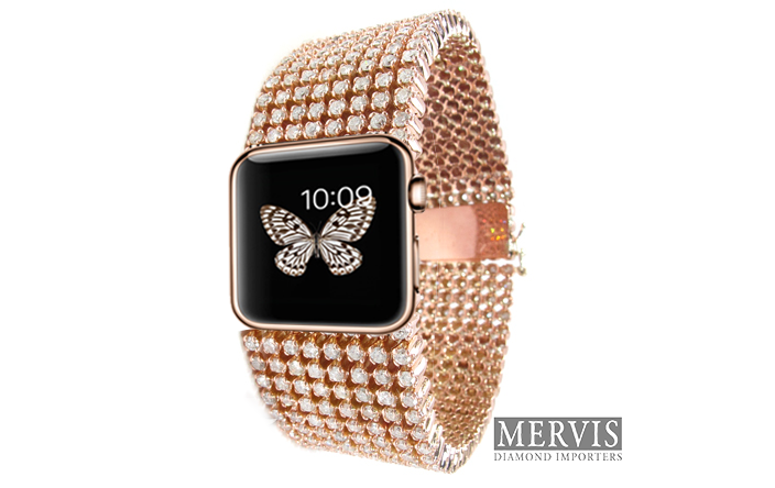 Diamond iwatch - Diamond iWatch : un bracelet pour l'Apple Watch à 30 000 dollars
