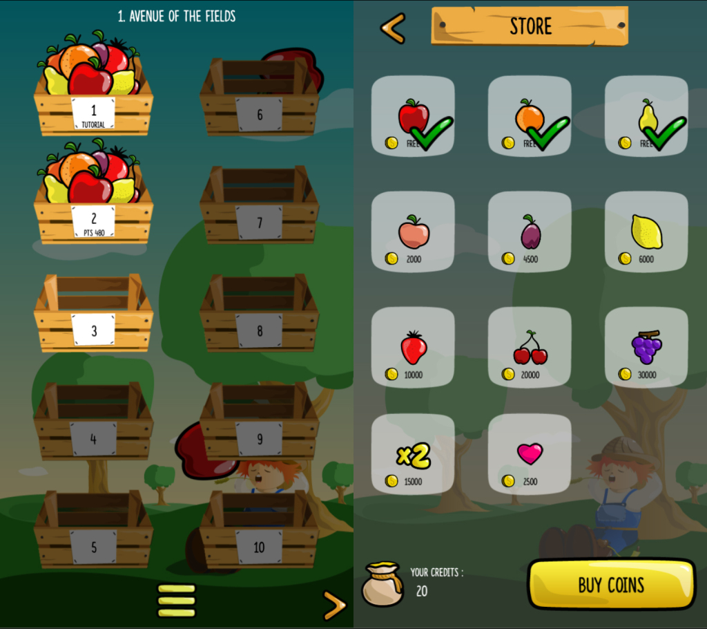 Fruits-jam-ios