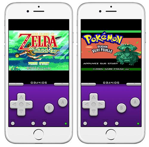 GBA4iOS - GBA4iOS : émulateur GameBoy Advance (iPhone, iPad, iPod Touch) sous iOS 8