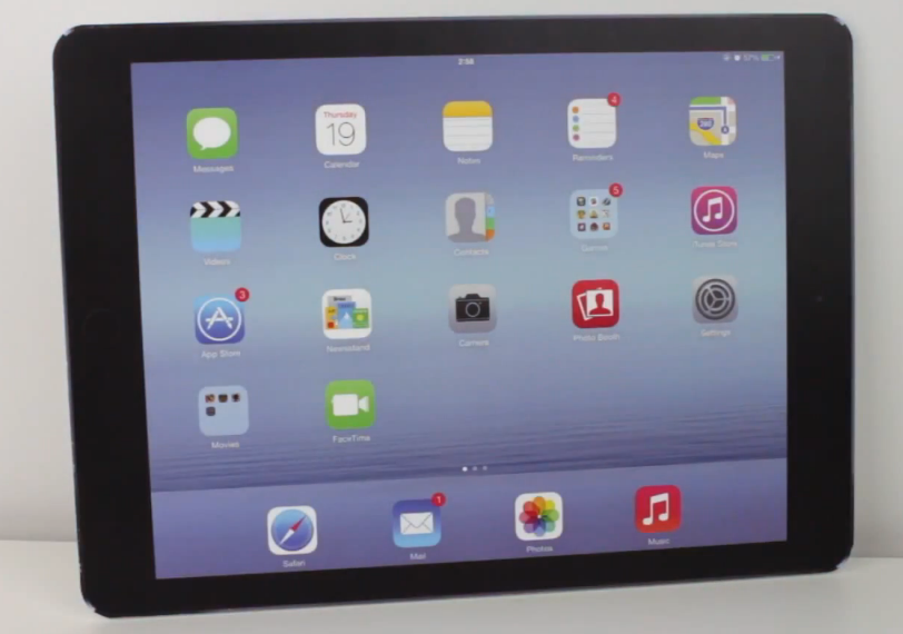 iPad Air Plus iPad Pro maquette - Un écran IGZO sur le futur iPad Pro d'Apple ?