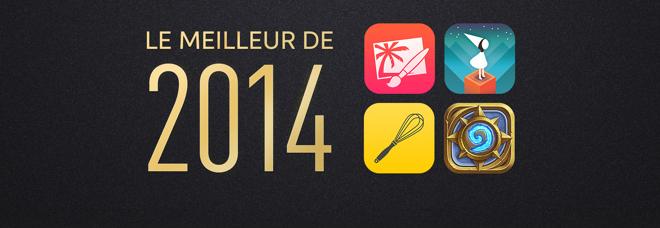 meilleur 2014 app store - App Store : meilleurs jeux & applications en 2014