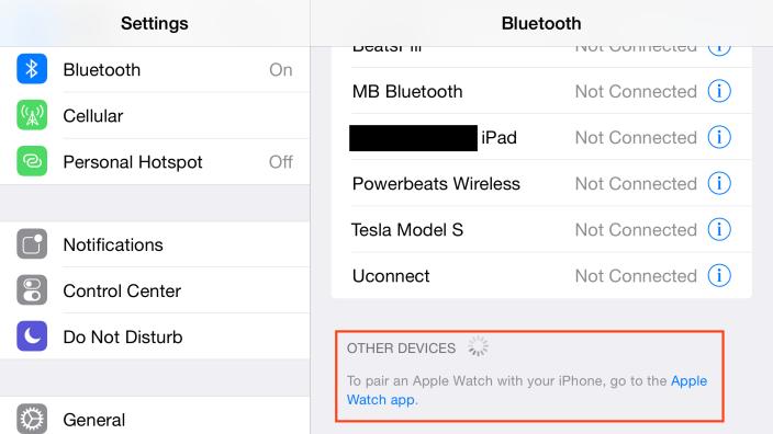 Apple Watch ios 8.2 beta 4 - iOS 8.2 proposera une application destinée à l'Apple Watch