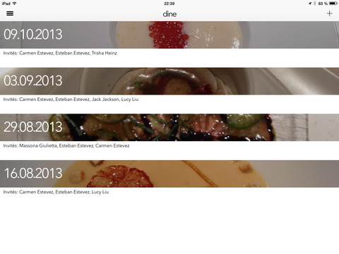 Dine-iPad