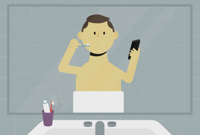Mr Selfie - Mr Selfie : un court métrage sur l'addiction aux smartphones