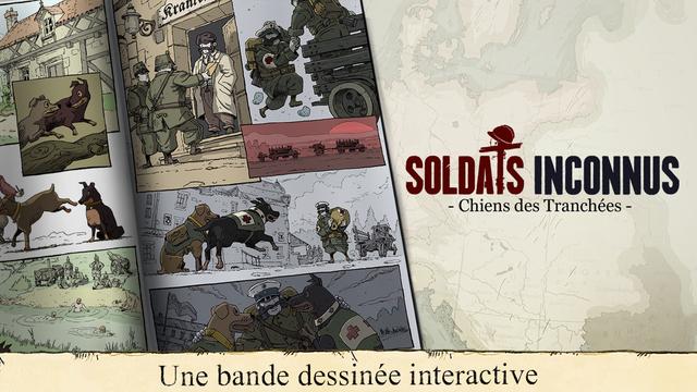 Soldats Inconnus iOS - Soldat inconnus : l'épisode 1 gratuit un mois sur iPhone & iPad