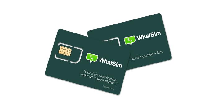 WhatSIM - WhatSim : une carte SIM WhatsApp internationale à 10€/an