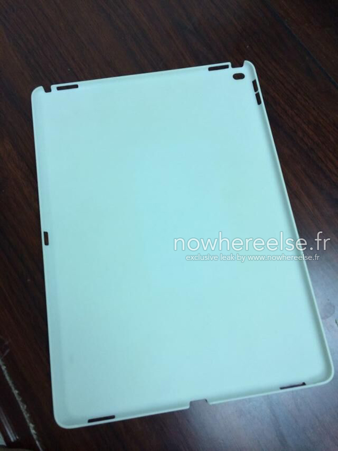 iPad Pro Coque nowhereelse - iPad Pro : une coque de protection apparaît en photo