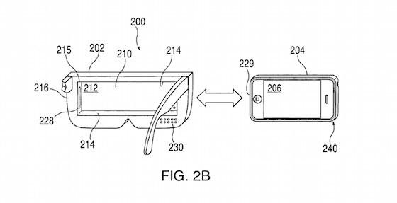 Brevet casque de réalité virtuelle Apple (1)